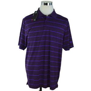NEW Under Armour Mens Polo Shirt Sz XL Purple Blue